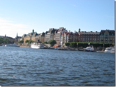 Stockholm in the summer.