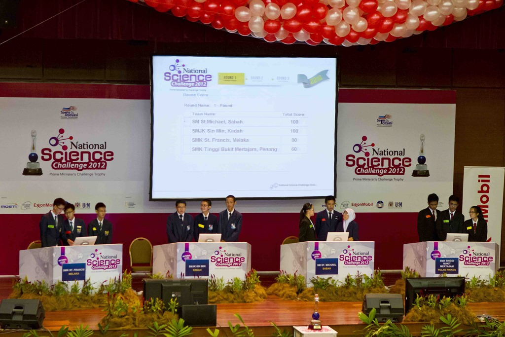 NATIONAL SCIENCE CHALLENGE 2012 IN PUTRAJAYA