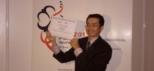Dr Sin How Lim - recipient of Joint IAS-NIDA Research Fellowship Award 2013