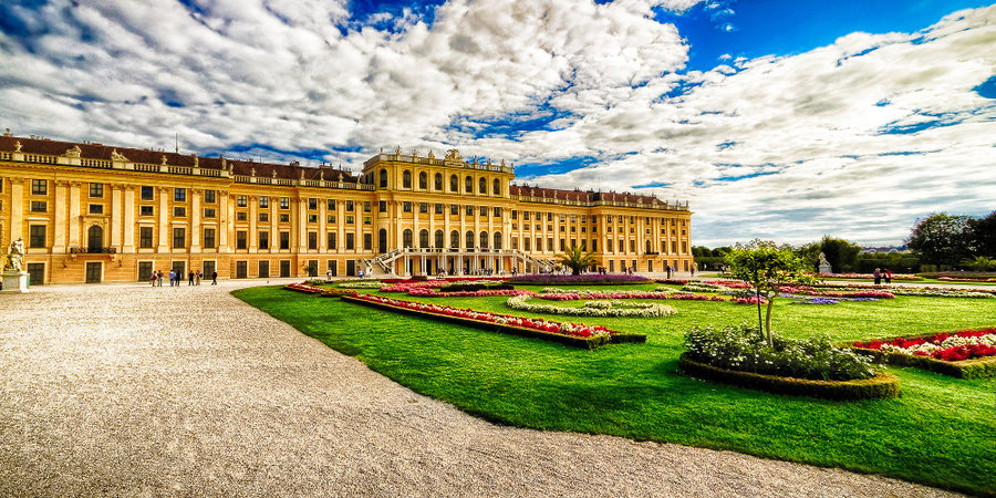 Schönnbrunn Palace, a top tourist destination in Vienna. It is a UNESCO World Cultural Heritage site since 1996. Photo: Thiranja Babarenda Gamage Photography