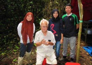 Field expedition with the Department of Wildlife and National Park  (DWNP) in Krau Wildlfe Reserve, Pahang.