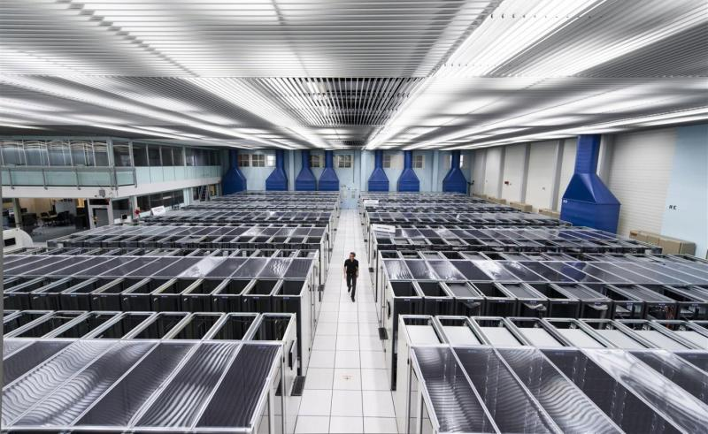 CERN Data Centre. Photo: CERN