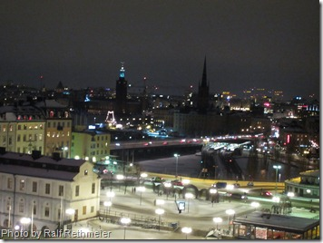 Stockholm in the winter.