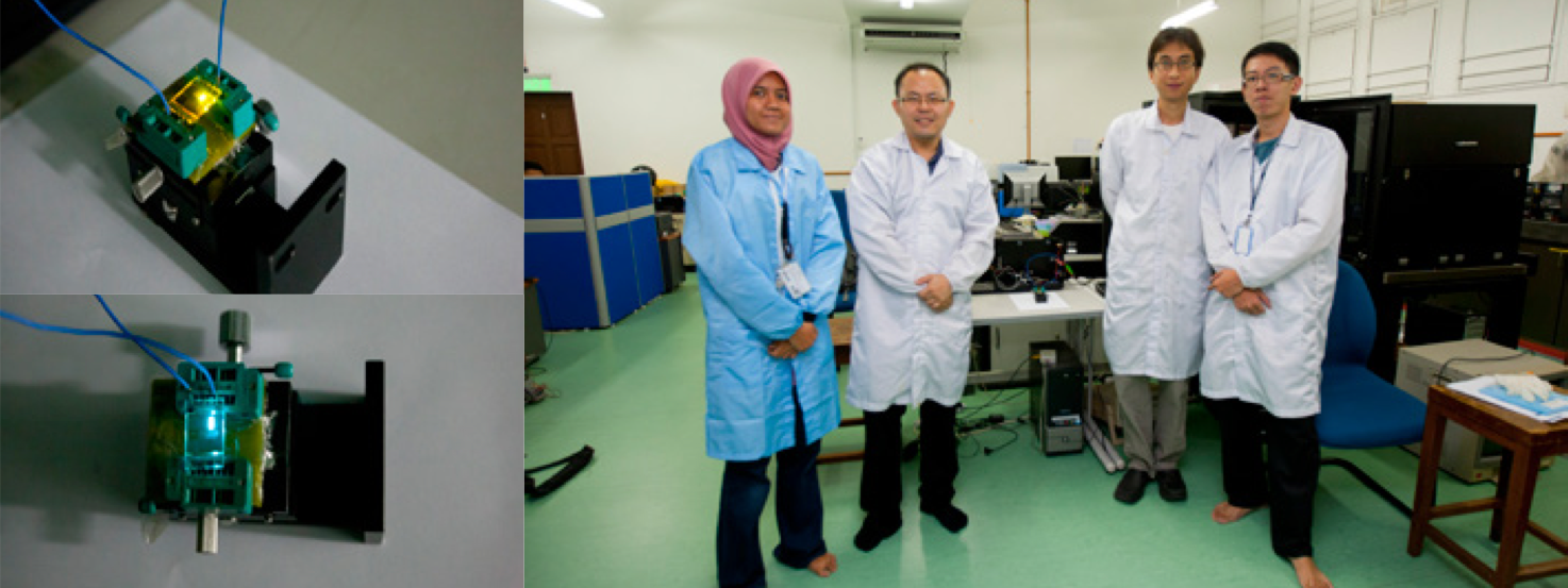 Project Collab: Organic Electronics (Dr Woon Kai Lin, University of Malaya)