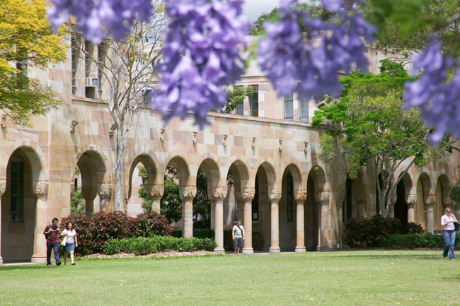 The Great Court, St Lucia campus, The University of Queensland. Source: www.scmb.uq.edu.au