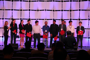 Innovators Under 35 (TR35) nominees at the EmTech Singapore 2014 event.