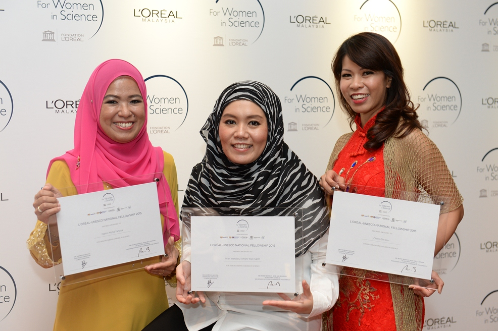 SciMy Interview: L'Oréal-UNESCO For Women in Science Award 2015 Fellows